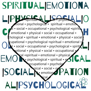 Spiritual, emotional, psychological, social and physical