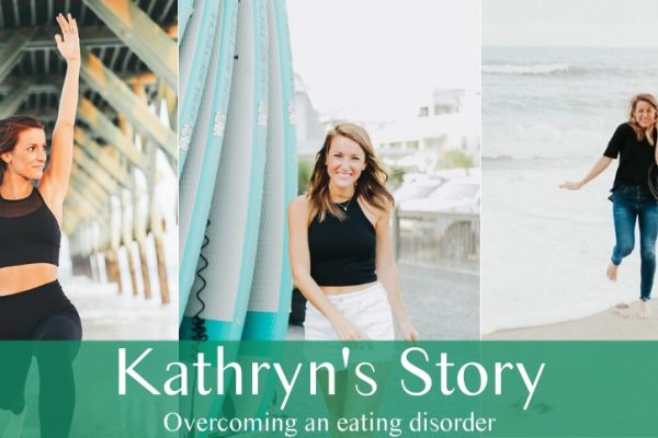 Overcoming an eating disorder