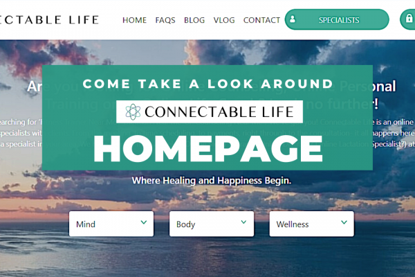 Connectable Life Homepage
