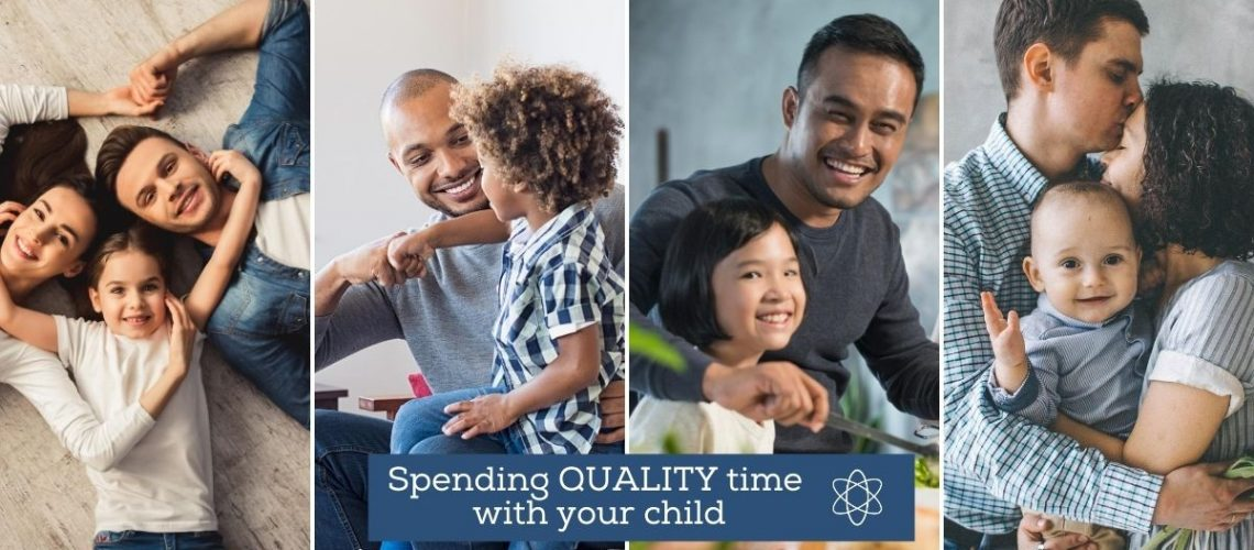 Spending Quality time with your child - Connectable Life