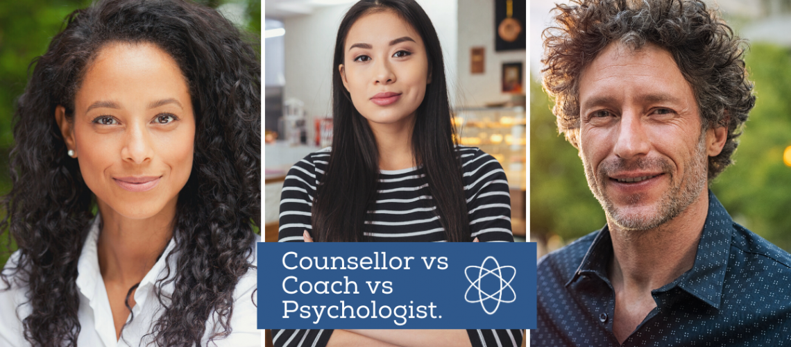 Connectable Life Counsellor vs Coach vs psychologist
