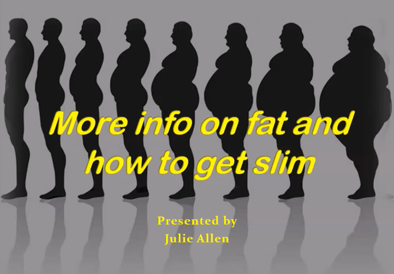 Fat Exposed - Part 1. Lecture by Juls Allen, Functional Medicine Practitioner.
