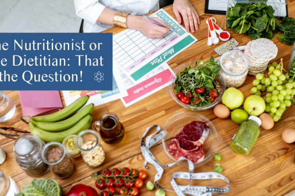 Online Nutritionist vs online dietitian on Connectable Life