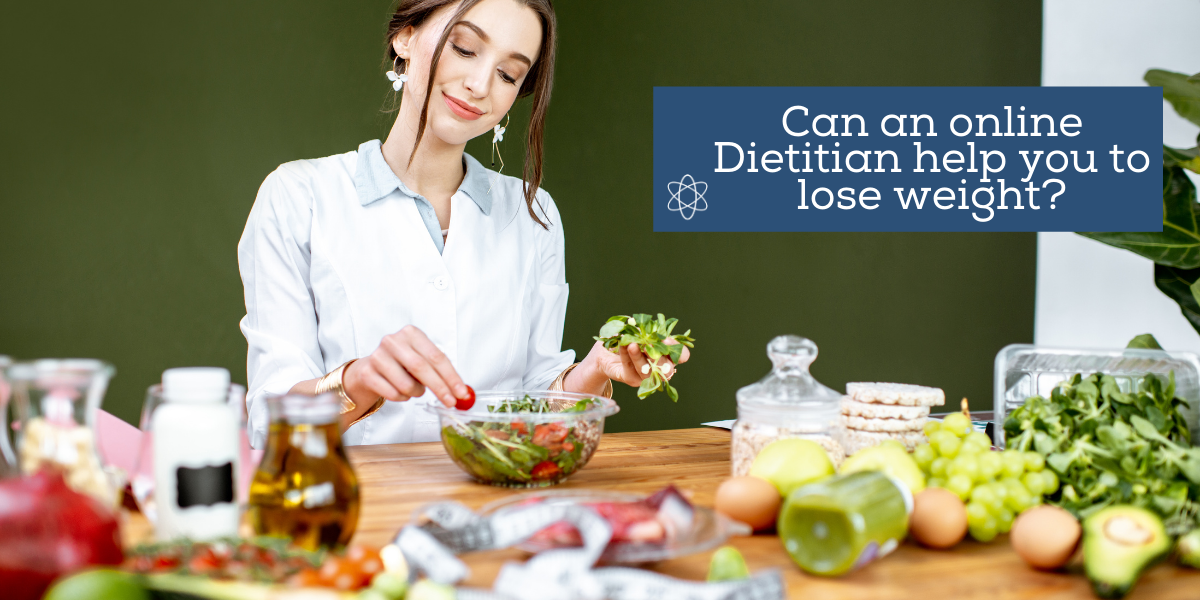 Can an online Dietitian help you to lose weight?
