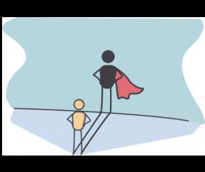 Becoming a superhero and beating addiction