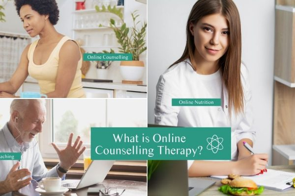 What is online counselling therapy? Online counselling, coaching, nutrition.