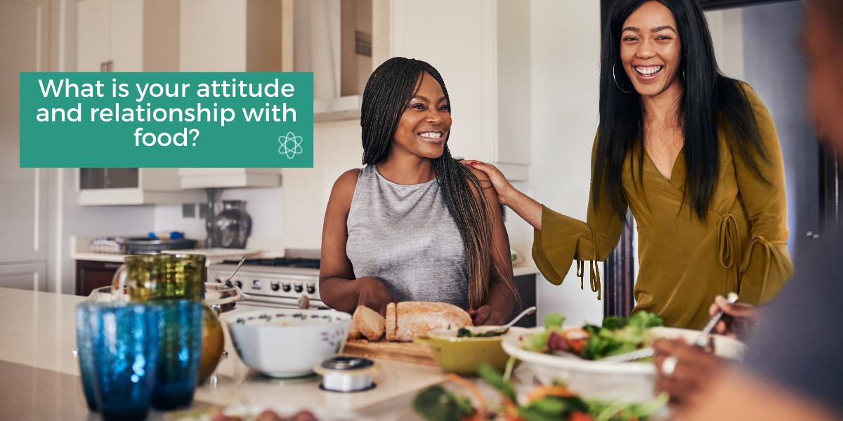 What is your attitude and relationship with food?